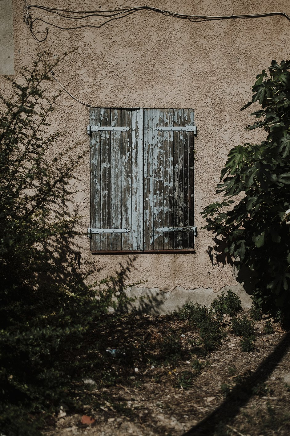 elisabetta riccio - detail of a window in the beautiful city of Aix-en-Provence