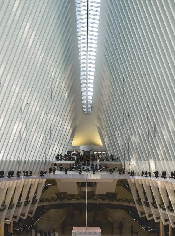 elisabetta riccio - the new Calatrava station in New York