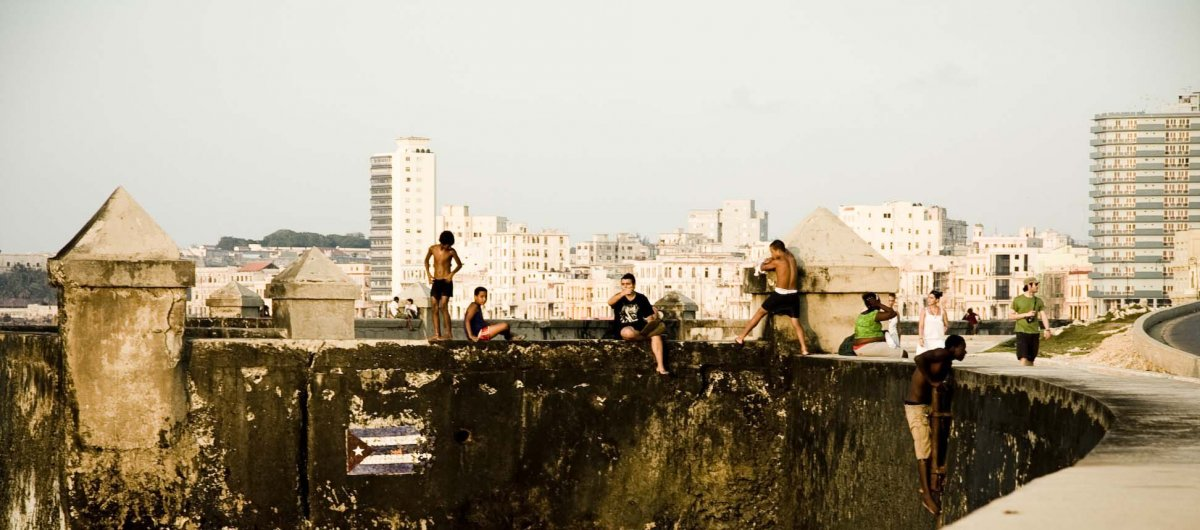 photography reportage in the Malecon, Havana