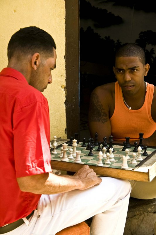 chess players in Havana