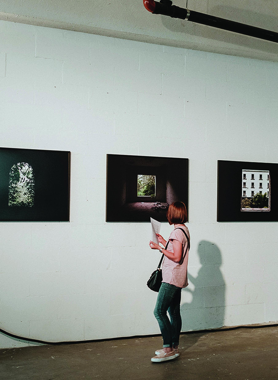 exhibition of elisabetta riccio in via poliziano
